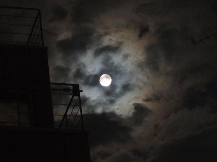 nikonP310で月を撮影(1)