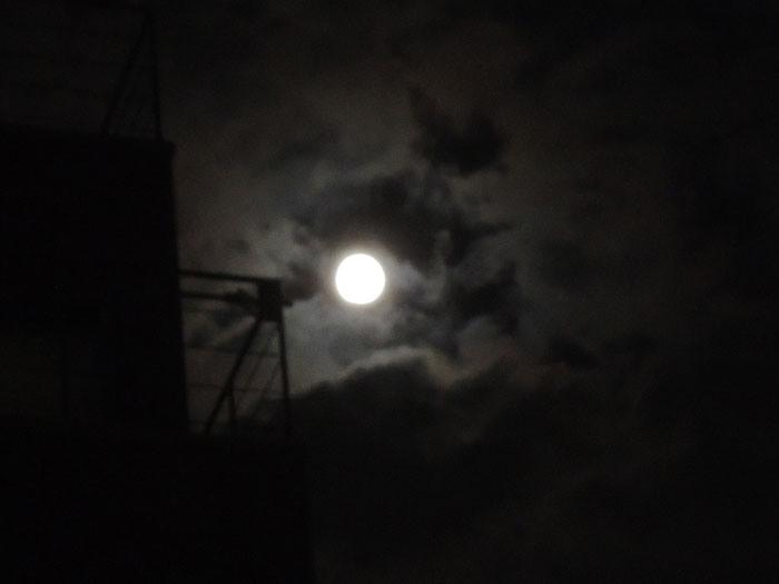 nikonP310で月を撮影(2)