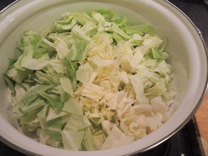重ね煮ファイトケミカルスープ(1)キャベツ