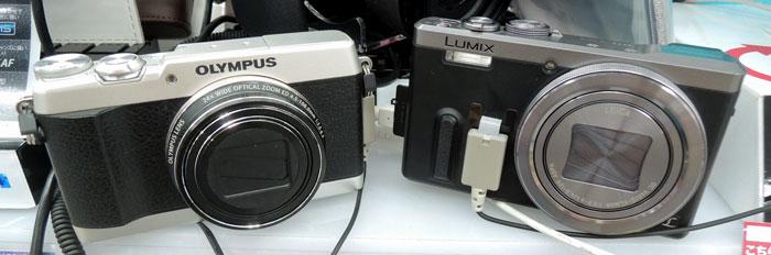 オリンパスSH-1 vs ルミックスTZ60
