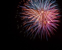 オリンパスsh-1で花火を撮影
