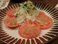 塚田農場 トマトサラダ