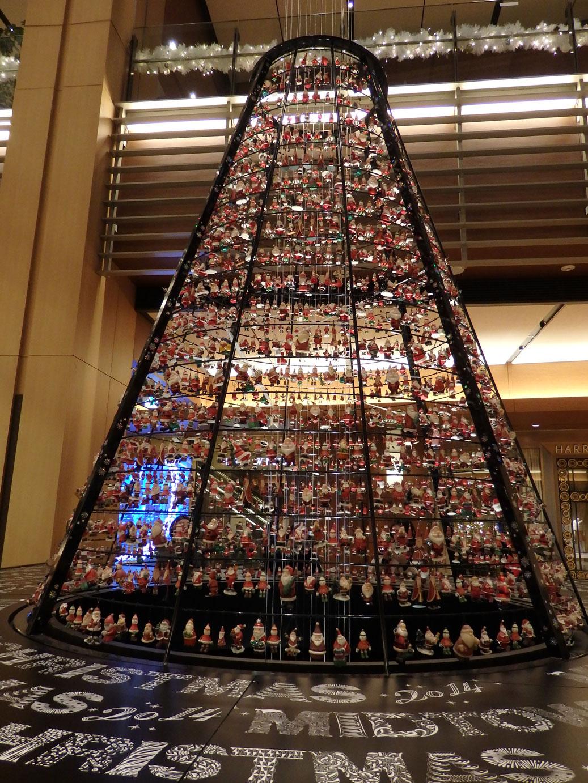 サンタのクリスマスツリー@東京ミッドタウン