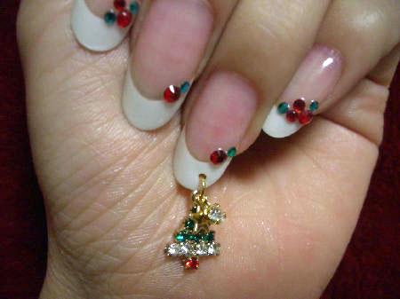 12月のクリスマスネイル(4)