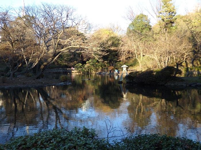 12月の有栖川公園