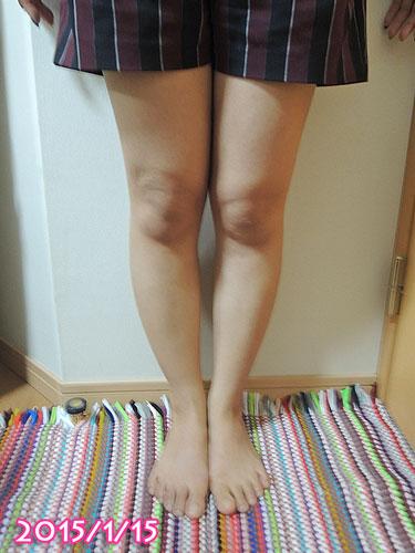 2015年1月の脚