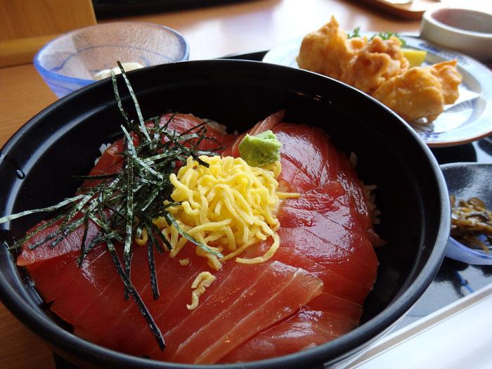 活魚レストラン潮彩のみさきまぐろきっぷ 特別メニュー