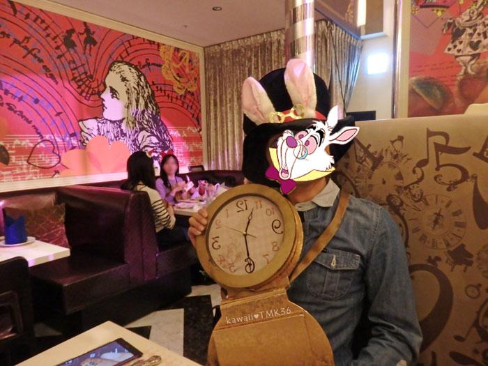 不思議の国のアリスの白うさぎの仮装