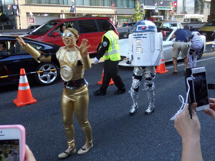 R2D2とC3PO
