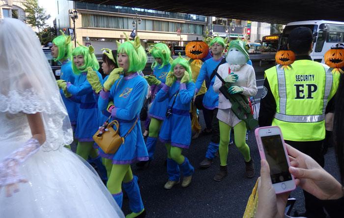 リトルグリーンメン(トイストーリーに出てくる宇宙人)の仮装