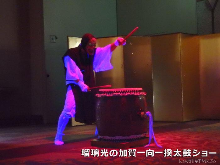 瑠璃光の加賀一向一揆太鼓ショー(1)
