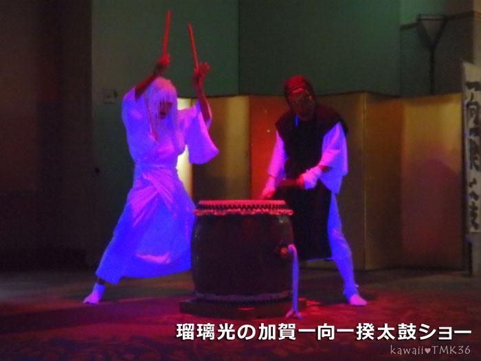 瑠璃光の加賀一向一揆太鼓ショー(2)