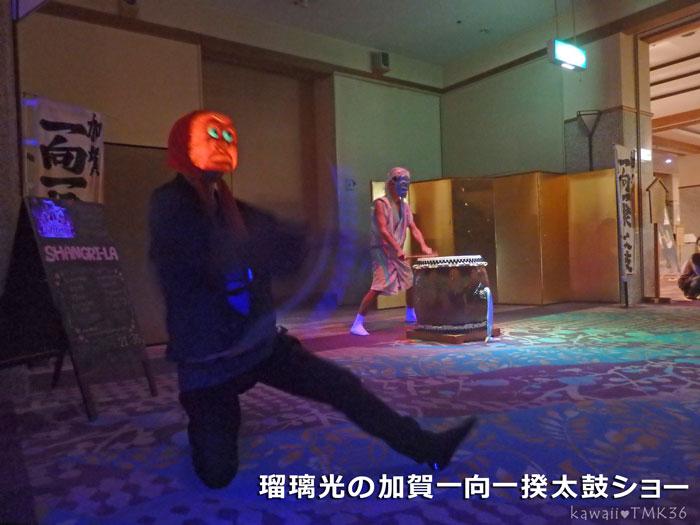 瑠璃光の加賀一向一揆太鼓ショー(3)