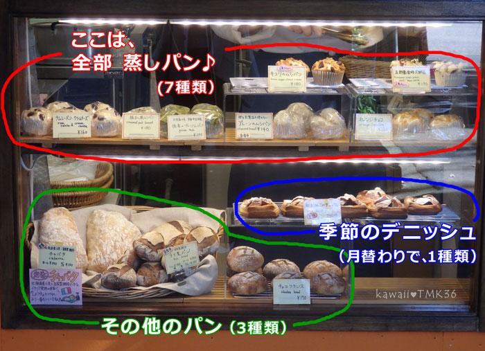 尾山神社の横のパン屋、ワタナベヤ!のメニュー
