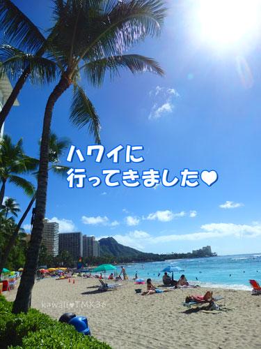 2015年12月、ハワイに行ってきました♪