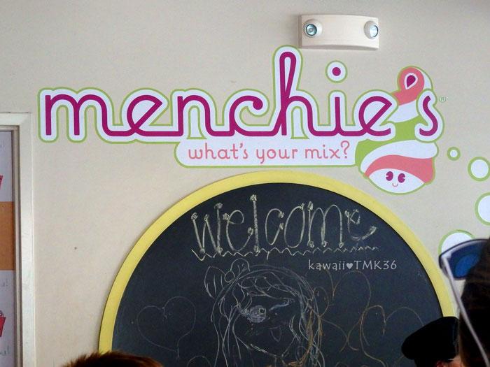 Menchie's Frozen Yogurt(メンチーズ フローズンヨーグルト)