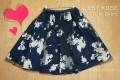 L'EST ROSE(レストローズ)のシャドーフラワープリントスカート