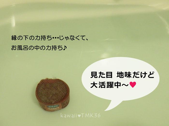 縁の下の力持ちじゃなくて、お風呂の中の力持ち♪シーボディ イルコルポ ミネラルバスストーン