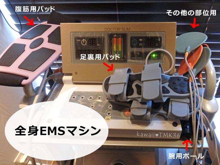 ライエクサ290(APTS)の全身EMSマシン ドクタースリム
