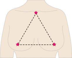 バストの三角形~理想は正三角形!~