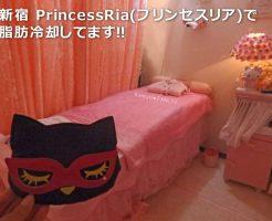 新宿 PrincessRia(プリンセスリア)で 脂肪冷却してます!!