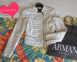 アルマーニのジャケットが23万円引きで買えた(笑)