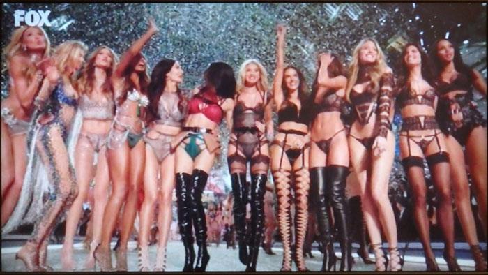 Victoria's Secret(ヴィクトリアズ・シークレット)のエンジェルたち2016