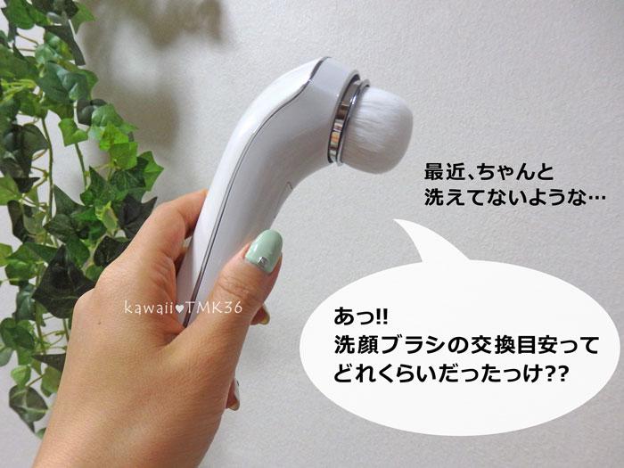 ReFa Clear(リファクリア)の洗顔ブラシの交換時期は?