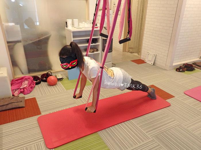シルクサスペンション。肩回りのトレーニング