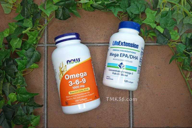 オメガ3脂肪酸のサプリメント